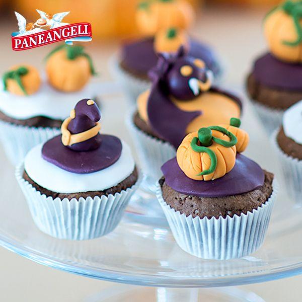 #Cupcakes di #Halloween. Scopri la ricetta su http://www.paneangeli.it/ricetta/-/ricetta/cupcakes-di-Halloween
