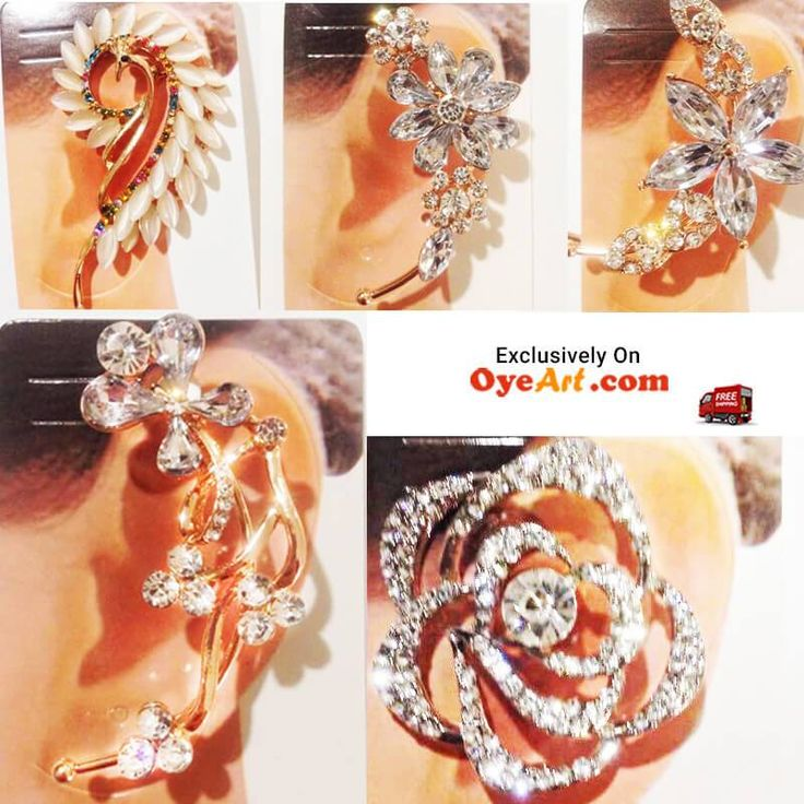 oyeart#Ear #cuffs are really #cool #trend to try. The #best part of #ear #cuffs is that you won't need a new #piercing to #wear one. Get one for your self here http://bit.ly/1dfZ6tE #intrend #flaunt #Looks #partywear