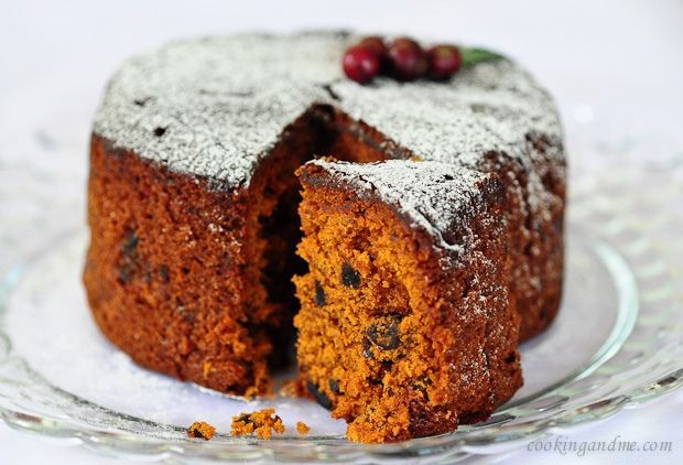 Make christmas cake instantly with this no-soak-required fruit cake recipe!