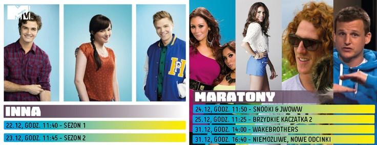 Grudniowe maratony w MTV. Obczajcie szczegóły!