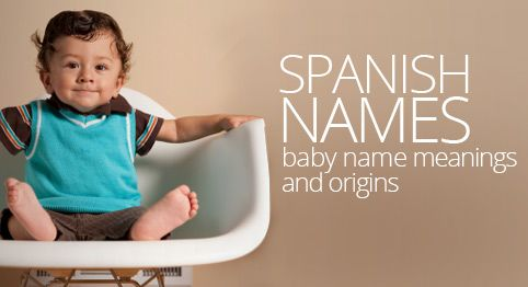 Spanish baby names starting with a