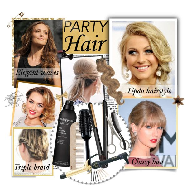 """""""Party hairstyle"""" by directioner-1313-69-crazymofo on Polyvore"""