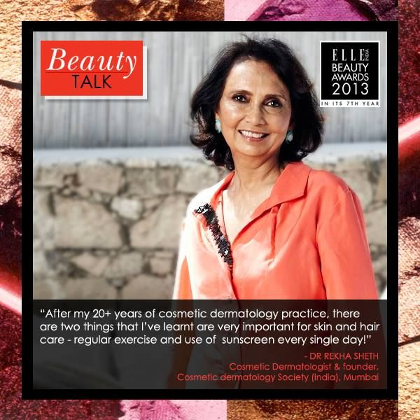 Elle Beauty Awards Panelist 2013 Dr Rekha Sheth Cosmetic Dermatologist Founder Cosmetic Dermatology Society Cosmetic Dermatology Beauty Talk Dermatology Dr madnani is a visiting consultant at p.d hinduja national hospital. pinterest