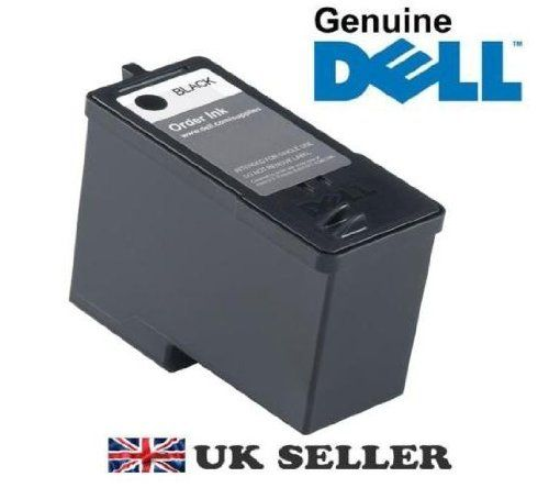 "GENUINE Original DELL Black Ink Cartridge Series 5 High Capacity , Compatible with Dell All-In-One Inkjet Printer Printers , SEALED M4640 922 924 942 944 962 964 - GENUINE DELL Black Ink Cartridge M4640 , CM340, Series 5 – High Capacity – Brand NEW Sealed – The cartridge is brand new , foil sealed and is a genuine original Dell cartridge , none of this funny so called "" compatible "" stuff – Compatible with following... - http://ink-cartridg"