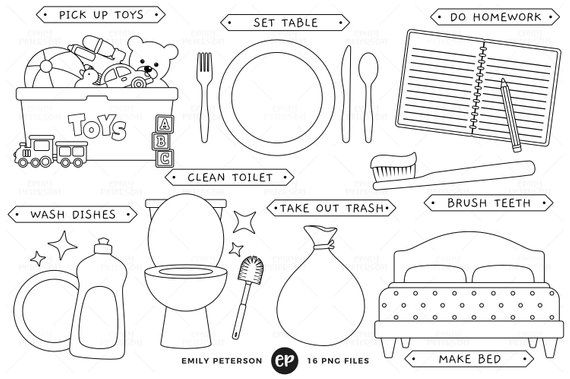 33++ Clean up clipart black and white ideas in 2021
