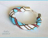 bracelet  Turquoise & White Summer
