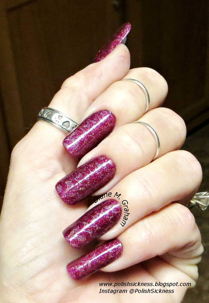 OPI DS Original, stamped using OPI DS Extravagance and my Uber Chic 6-01 stamping plate