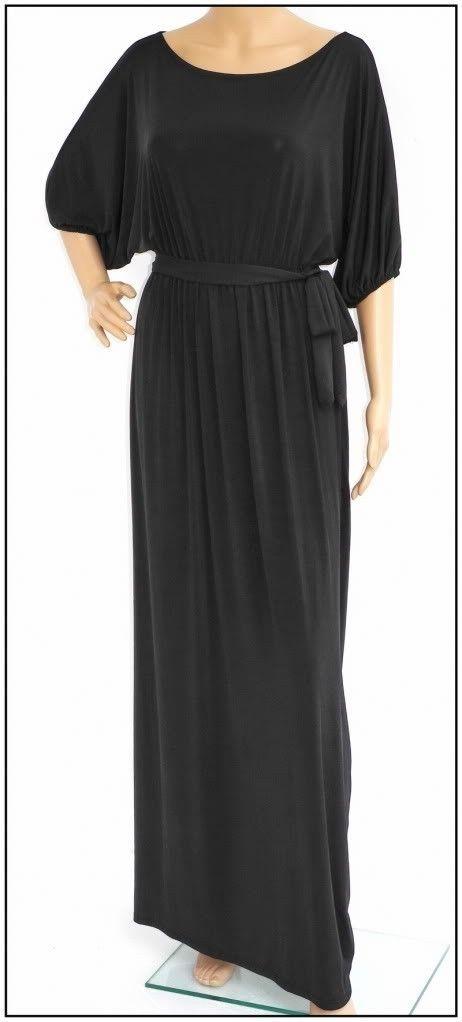 Plus Size Black Spandex Dress, Sleek & Sensual