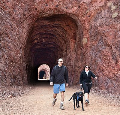 Want to try this: The Historic Railroad Tunnels near Lake Mead (Nevada)