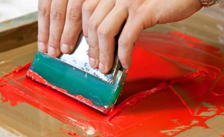 Técnicas para pintura em tecido