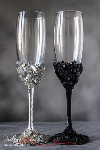 17 Best ideas about Wedding Toasting Glasses on Pinterest Toast