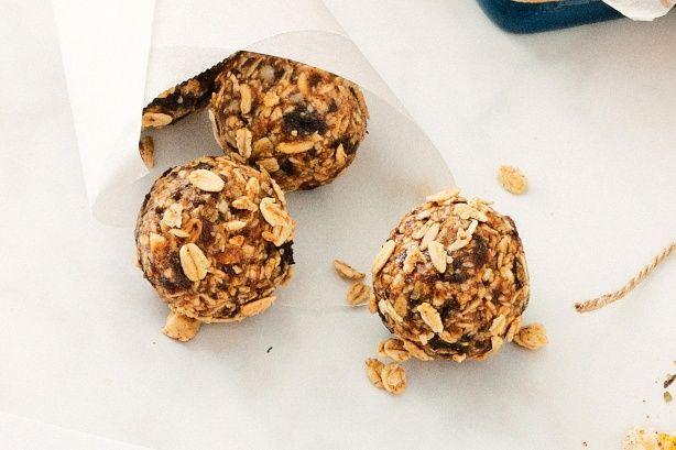These crunchy muesli bars are the perfect lunch-box fillers.