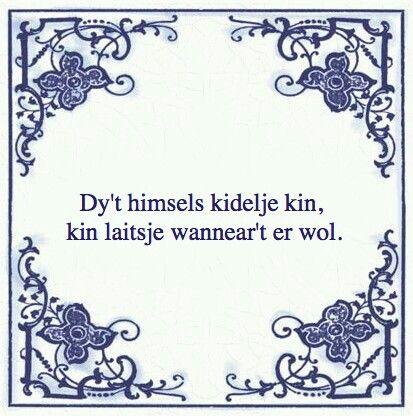 Frysk die zichzelf kan kietelen kan lachen wanneer hij maar wil!!