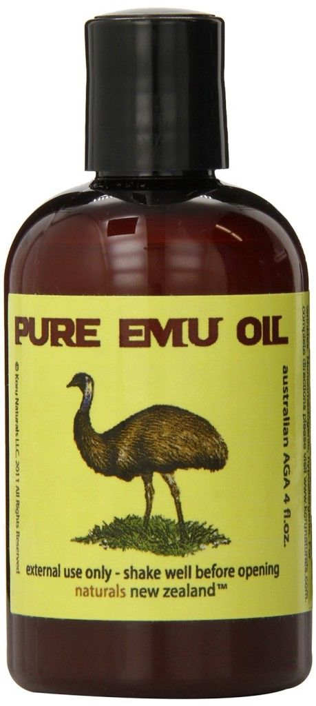 Pure Emu Oil for stretch marks, acne scars, eczema and psoriasis.