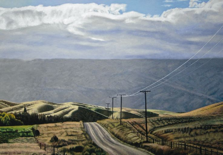 Dick Frizzel Central Otago landscape 2012