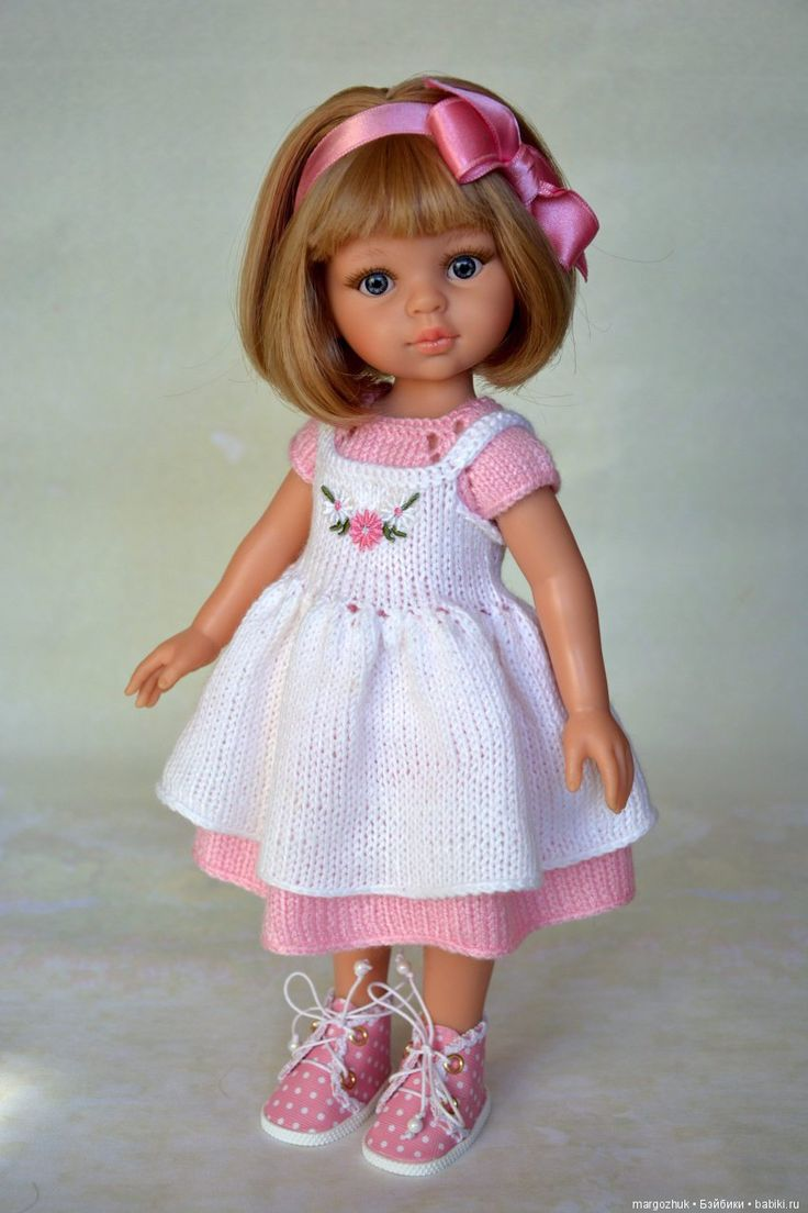Хотела шить, а руки вяжут / Куклы Паола Рейна, Paola Reina / Бэйбики. Куклы фото. Одежда для кукол