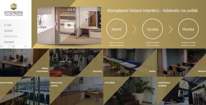 Nabídka práce ve společnosti INTERIORS manufacture & design