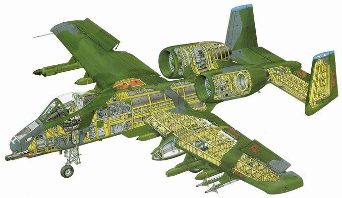 A-10 Cutaway