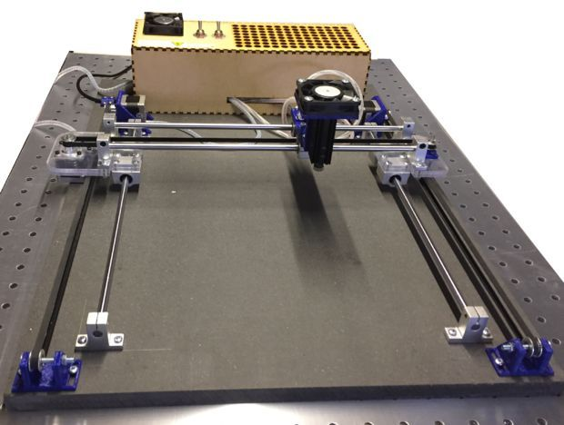Low cost reliable & powerfull laser engraver