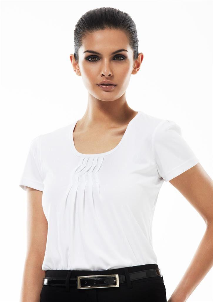 Biz Collection Ladies Deco Top - Uniform Wholesalers