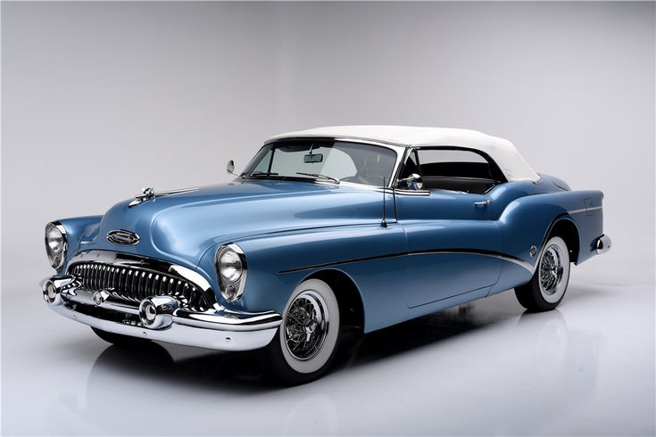 1953 Buick Skylark Convertible with Nailhead 322ci OHV Fireball V8 188 bhp  3 Speed automatic