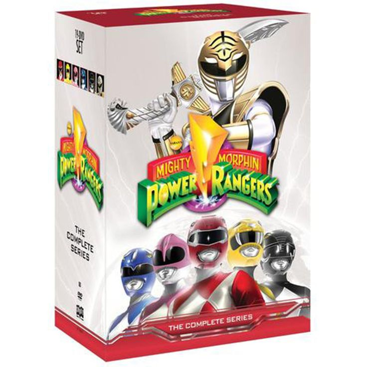 Mighty Morphin Power Rangers The Complete Series Box Set on DVD