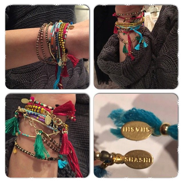 LOVE THEM!!! Shashi bracelets at FASHION ADDICT