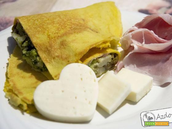 Crêpes  * latte di avena e farina di kamut *  #ricette #food #recipes