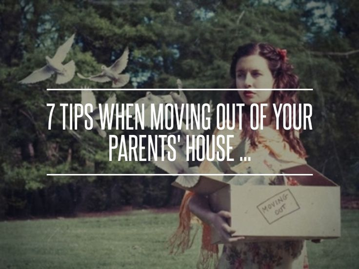 Planning on moving out of parents house - House plans