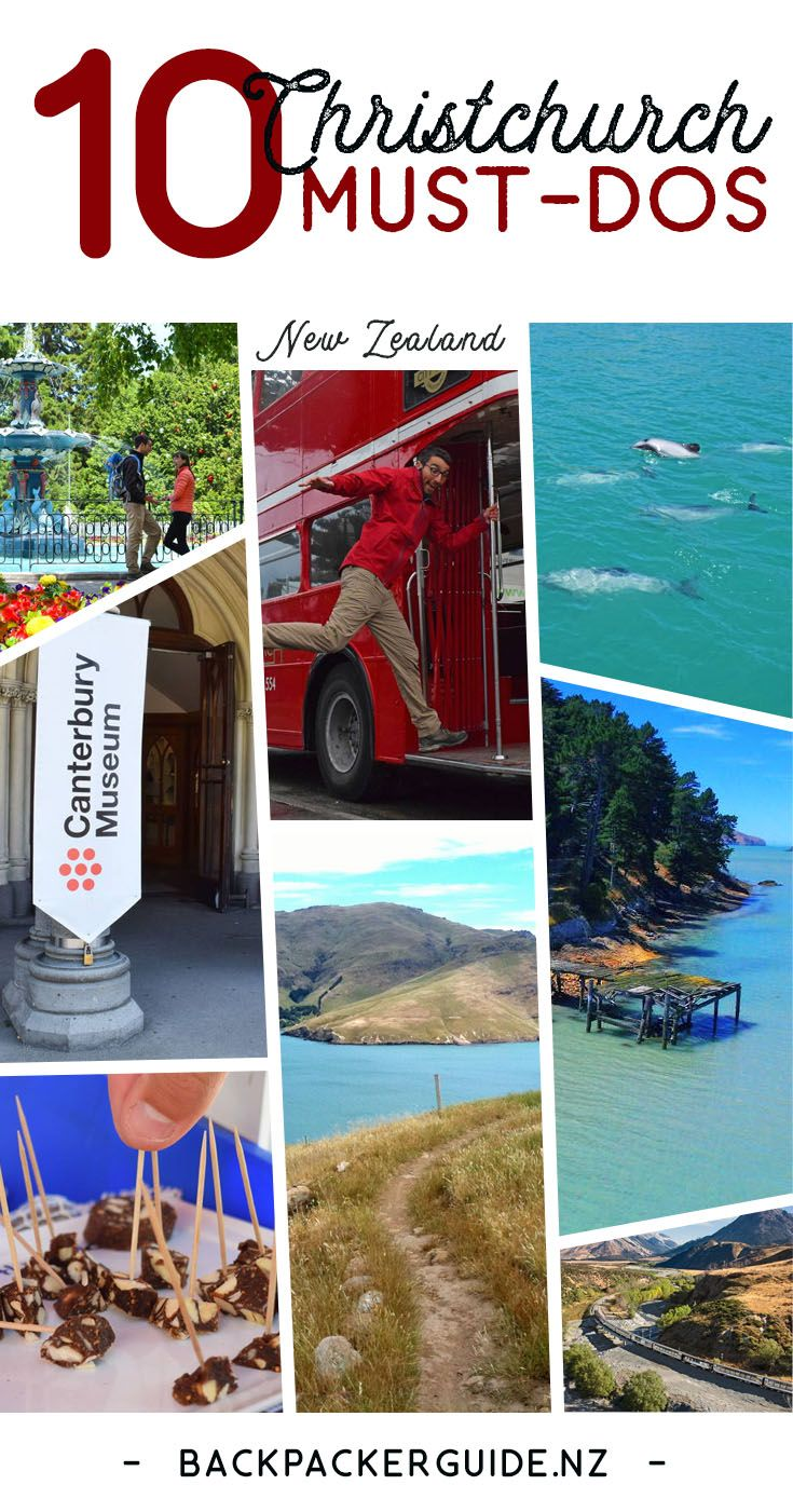 10 Christchurch Must Dos New Zealand Travel Guide New Zealand
