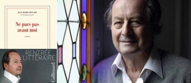 """Rentrée littéraire : Jean-Marie Rouart, l'écrivain qui rend heureux  - Jean-Marie Rouart publie """"Ne pars pas sans moi"""" chez Gallimard"""