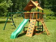 Portable storage buildings and playground equipment and assembly in Chattanooga,Tn.