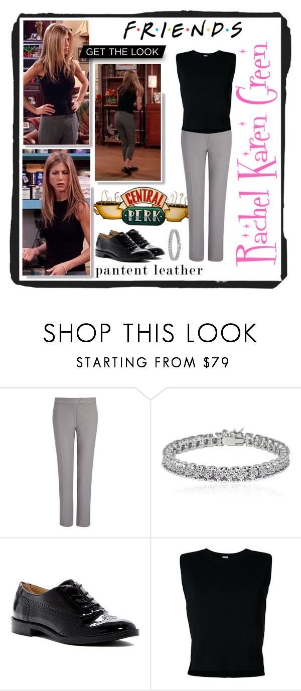 """""""Rachel Karen Green rules!"""" by creaptitude ❤ liked on Polyvore featuring Capelli New York, Joseph, Apples & Figs, Franco Sarto and Rito"""
