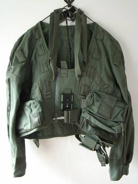 Military kaki garment
