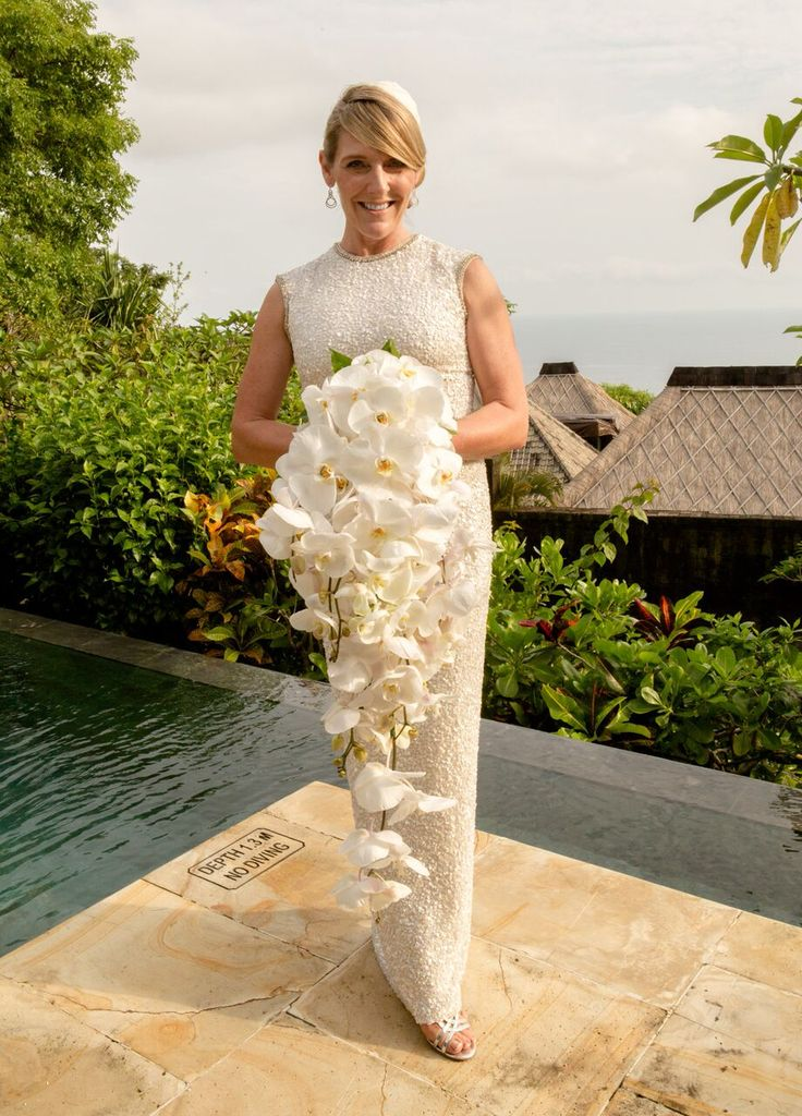 Orchid Bouquet / White Wedding / Wedding Inspo / Bali Wedding / Wedding Flowers