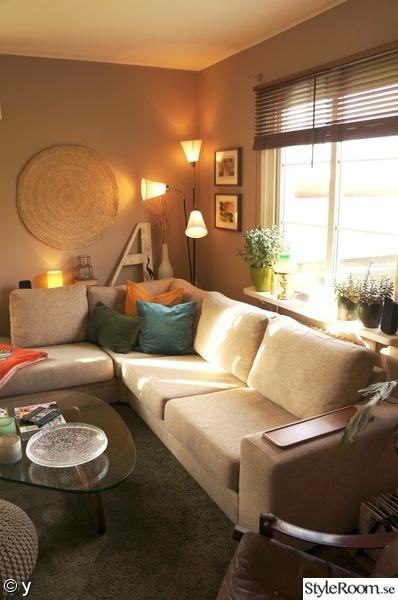 soffa,färg,lampa