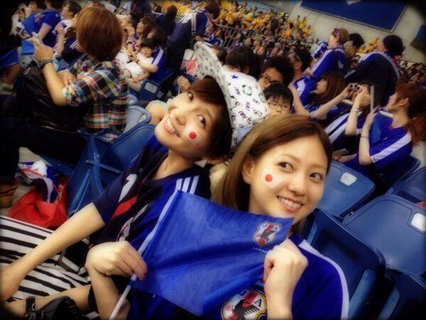 #AAA #宇野実彩子 #伊藤千晃 #サッカー