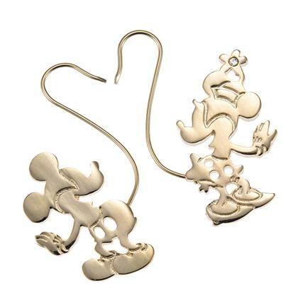 Mickey & Minnie Earrings Disney Store Japan