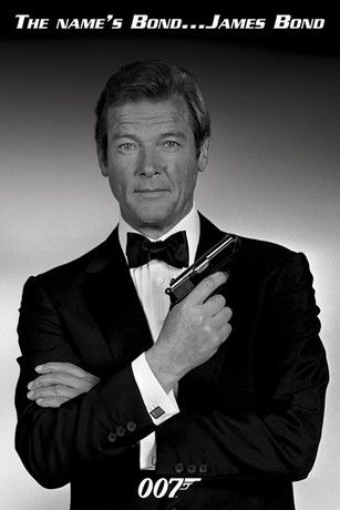 James Bond's in Order | ... movies posters james bond 007 james bond james bond 007 roger moore