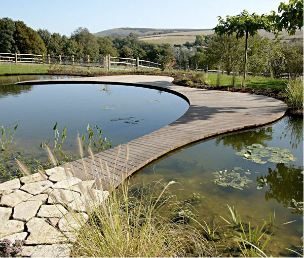 Ian Kitson won the Society of Garden Designers award for Medium Residential Garden with Follers Manor in Sussex, UK.