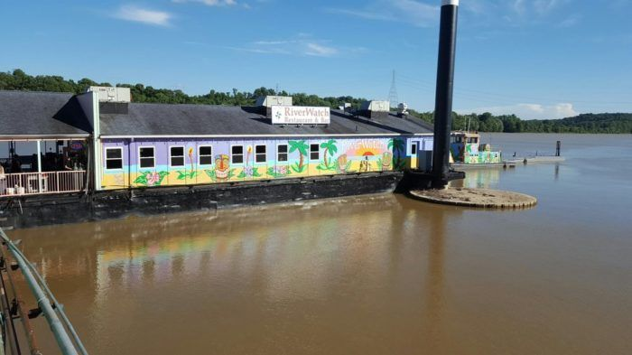 This floating, seasonal restaurant is ideal for hanging out in the spring and summertime. With incredible nautical decor inside and a stunning view of the Ohio River from their deck side seating, you can enjoy some of the best seafood in Indiana with a tranquil view.