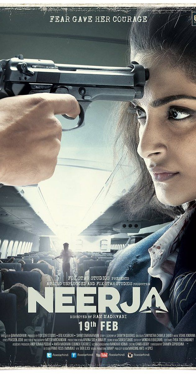 Directed by Ram Madhvani. With Sonam Kapoor, Shabana Azmi Neerja is a portrayal on the life of the courageous Neerja Bhanot, who sacrificed her life while protecting the lives of 359 passengers on the Pan Am flight 73 in 1986. The flight was hijacked by a terrorist organization.