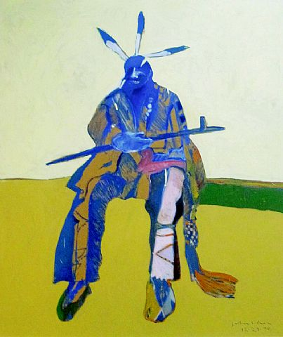 Fritz Scholder Luiseno Band Of California Mission