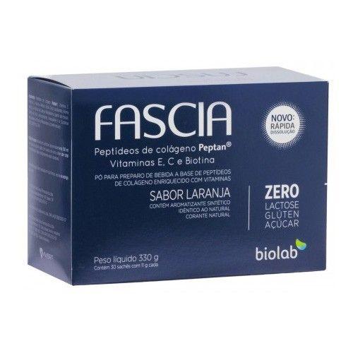 Fascia Colágeno Sabor Laranja c/ 30 Sachês de 11g Cada - Farma Delivery