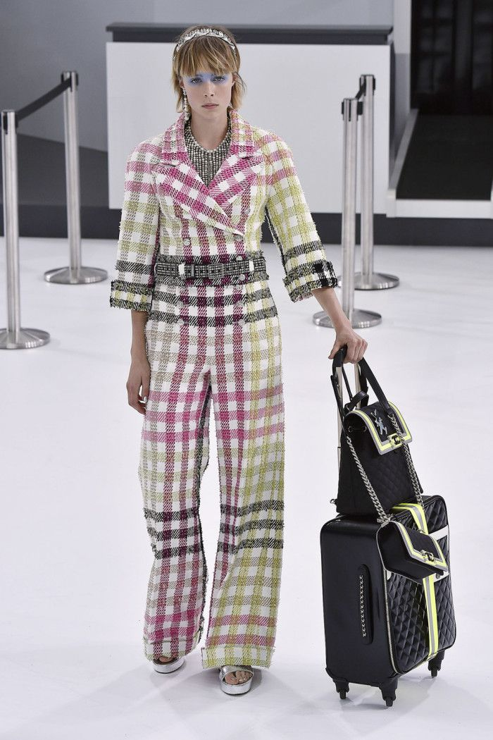 Chanel Airlines Collection At Paris Fashion Week | News | Grazia Daily