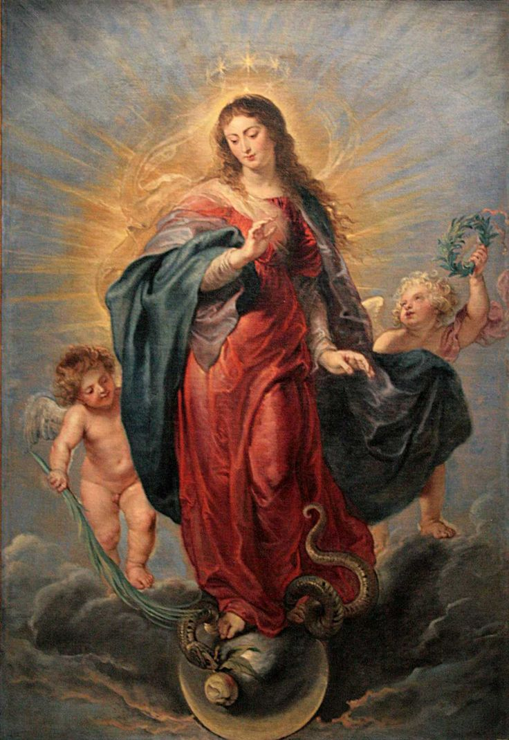 """The Immaculate Conception is celebrated on December 8th, or on December 9th when the 8th falls on a Sunday, the """"supposed"""" date of Mary's conception."""