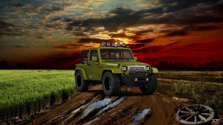 Checkout my tuning #Jeep #WranglerRubicon 2013 at 3DTuning #3dtuning #tuning