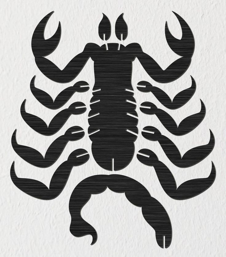3d Puzzle Scorpion Assembly Dxf Files Cut Ready For Cnc