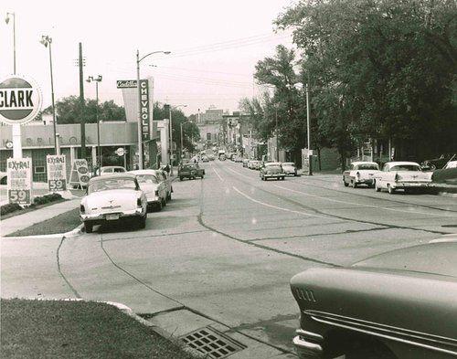Milwaukee St 1960 Janesville Wisconsin Vintage Photos