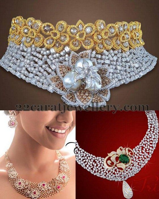 Glorious Diamond Sets by JCS | Jewellery Designs